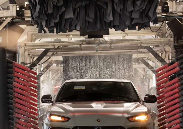 State-of-the-Art Wash System